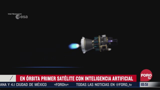 en orbita primer satelite con inteligencia artificial