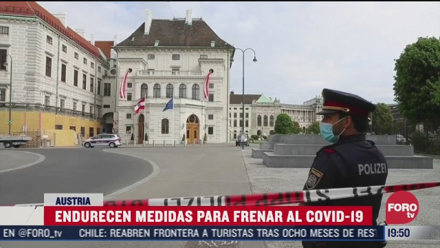 endurecen medidas contra covid 19 en austria