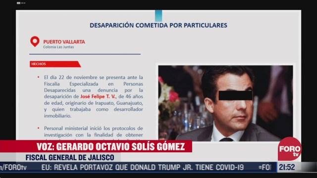 fiscalia de jalisco confirma secuestro de empresario en puerto vallarta
