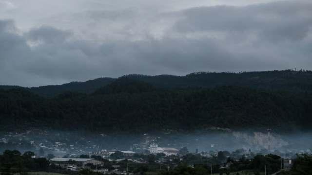 Frente 11 provoca fuertes vientos en Chiapas