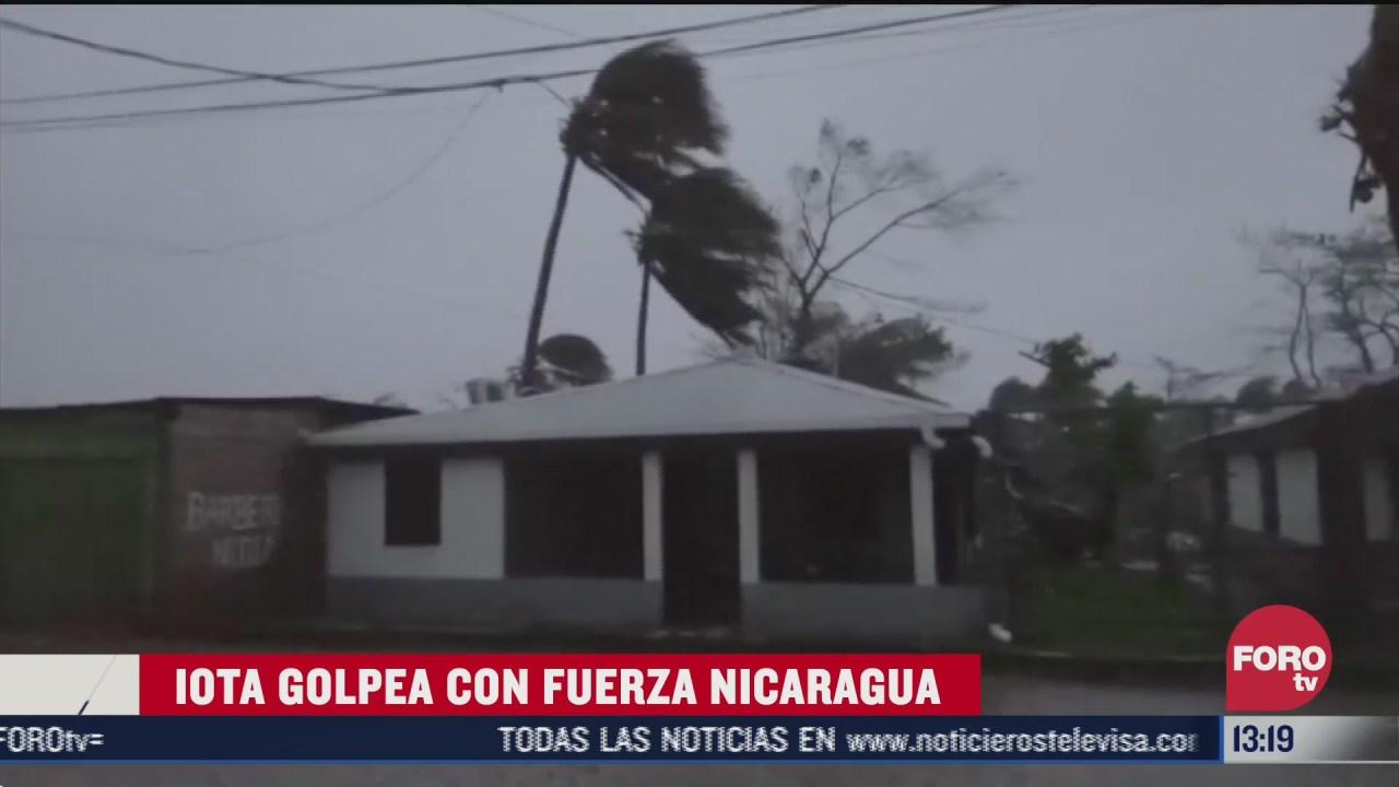 huracan iota deja destruccion a su paso por centroamerica