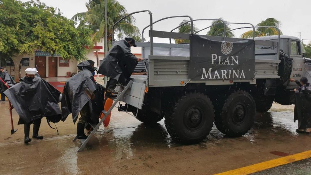 Huracán Zeta en Quintana Roo