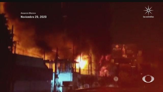 indagan incendio en subestacion de cfe en avenida universidad cdmx