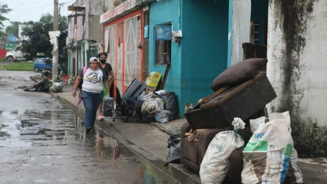 Limpieza, el nuevo desafío que enfrenta Tabasco tras las inundaciones