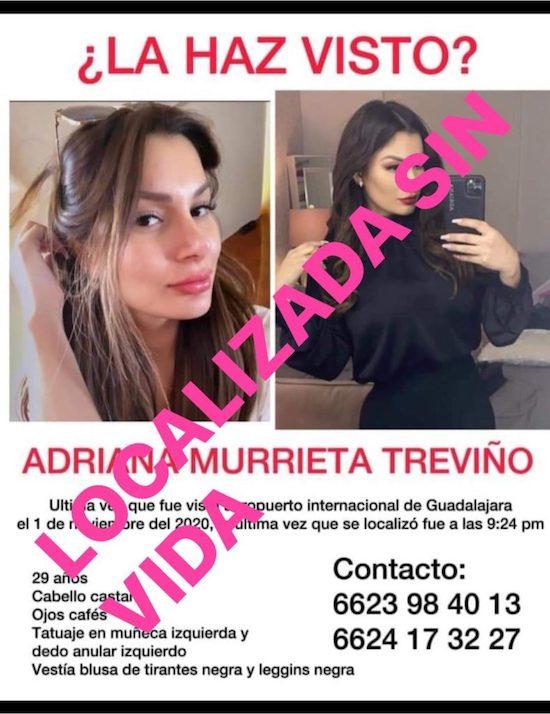 Adriana Murrieta Ficha Búsqueda Imagen