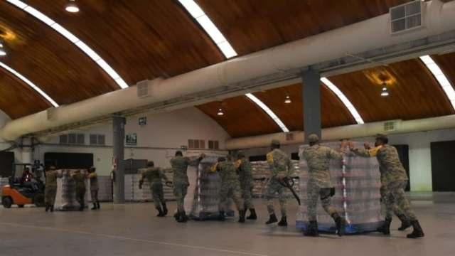 Más de 200 toneladas de víveres han sido llevadas a Tabasco