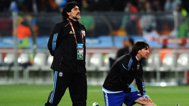 Así reaccionaron Messi y Cristiano Ronaldo por la muerte de Diego Armando Maradona