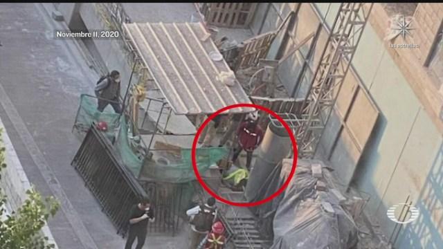 ocultan muerte de obrero en construccion de la alcaldia azcapotzalco