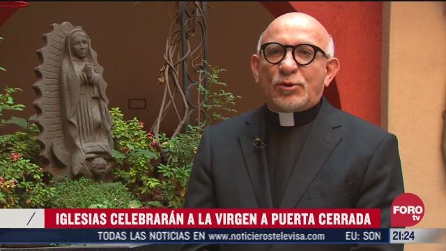 padre jose de jesus aguilar invita a peregrinos a peregrinacion virtual