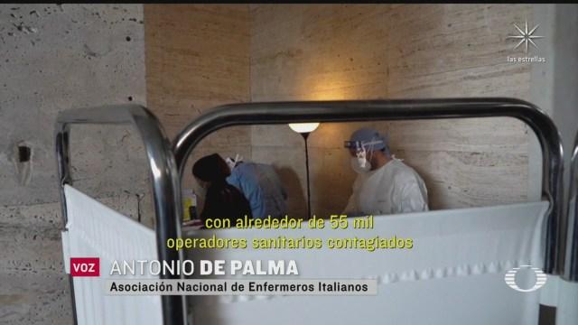 personas de escasos recursos en roma italia les aplican pruebas covid