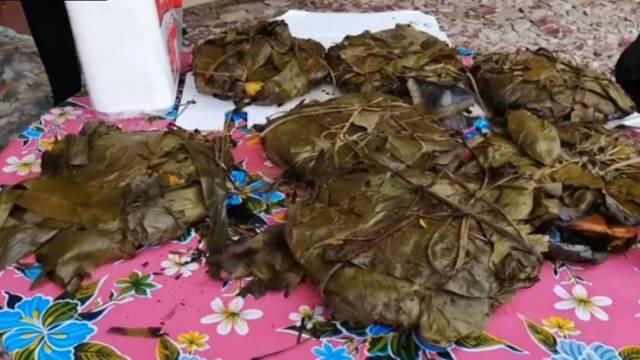 El pibipollo, un platillo clave en la celebración del hanal pixán
