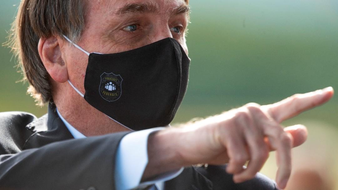 Presidente de Brasil, Jair Bolsonaro, no se vacunará contra el COVID-19