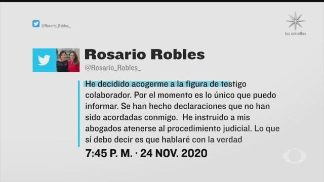 rosario robles declarara presuntos desvios de videgaray confirma abogado