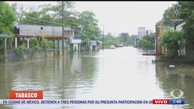 siguen las inundaciones en villahermosa tabasco