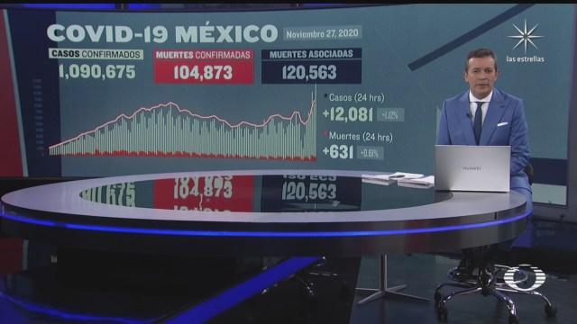 suman 104 mil 873 muertos por coronavirus en mexico
