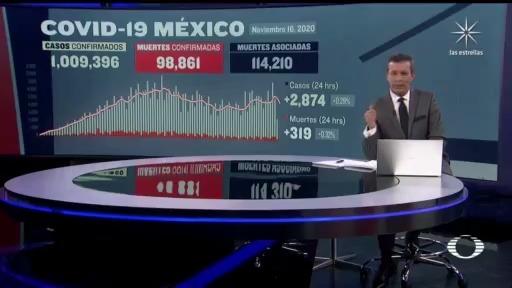 suman 98 mil 861 muertos por coronavirus en mexico
