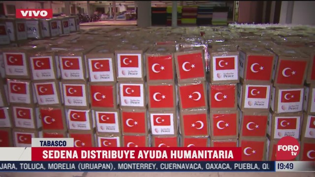 tabasco recibe ayuda humanitaria internacional tras inundaciones