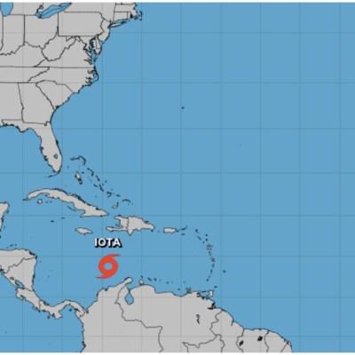 Se forma en el Caribe la tormenta tropical Iota