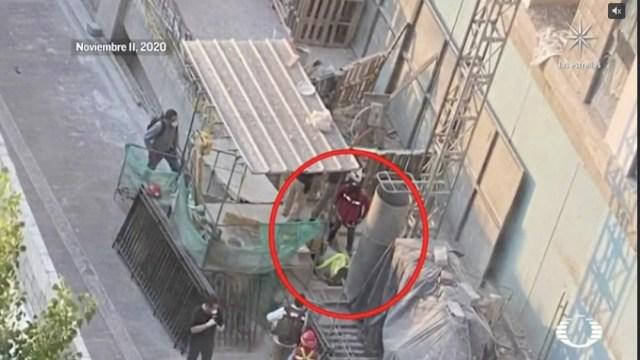 Trabajador muere en construcción de CDMX e incineran cuerpo para ocultar accidente