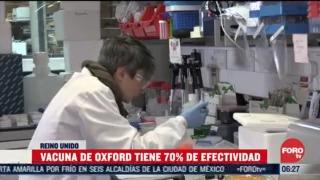 vacuna contra covid 19 de oxford tiene 70 4 de efectividad