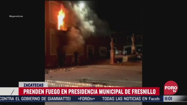 vandalizan palacio municipal de fresnillo zacatecas por muerte de sofia alejandra acosta