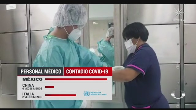 Agotamiento entre personal médico por pandemia