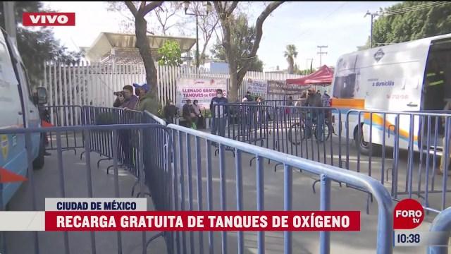 alcaldia iztapalapa ofrece recarga gratuita de tanques de oxigeno