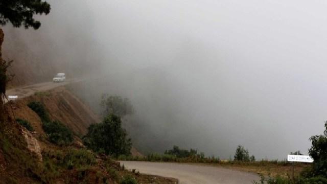 Bajas temperaturas, vientos fuertes y lluvias causa frente frío 23 en Oaxaca