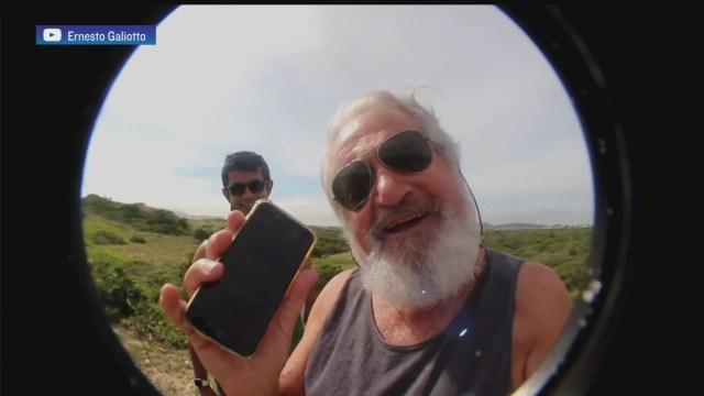 celular cae desde avioneta a 300 metros y lo encuentran intacto