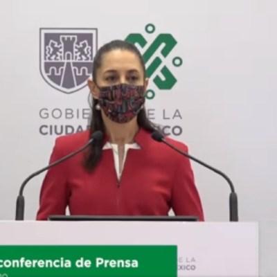 Claudia Sheinbaum, jefa de Gobierno de la Ciudad de México, en conferencia de prensa. (Foto: Redes sociales)