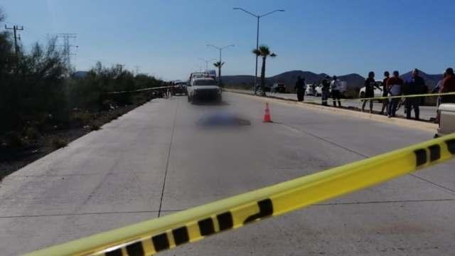 Conductor atropella a ciclistas en Sinaloa; causando la muerte de uno