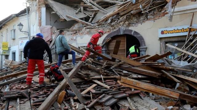 Croacia, en alerta por nuevos temblores tras el sismo que dejó 7 muertos