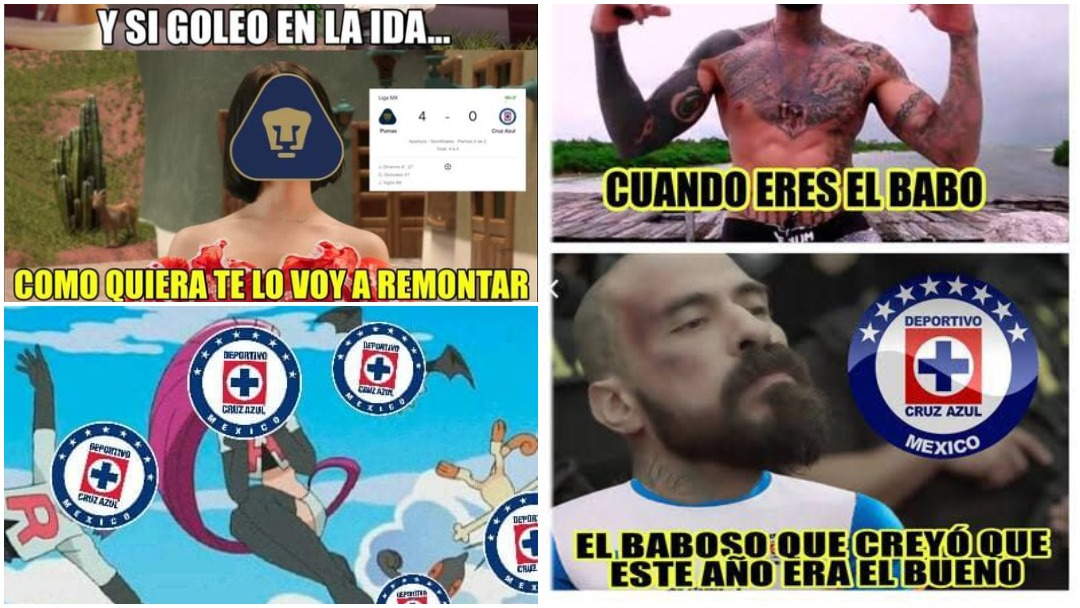 Pumas vs Cruz Azul y los memes de las semifinales del 2020 ...
