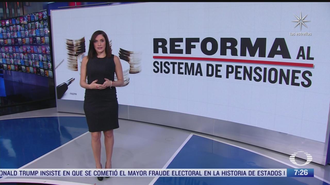 cuales son las reformas al sistema de pensiones