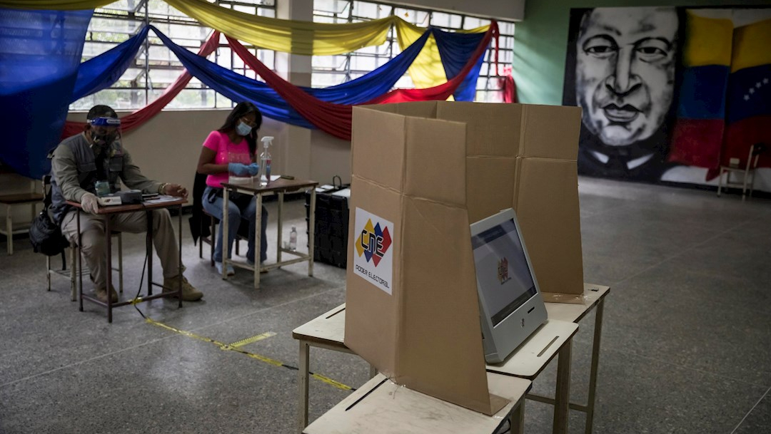 Poca gente participa en las elecciones legislativas de Venezuela