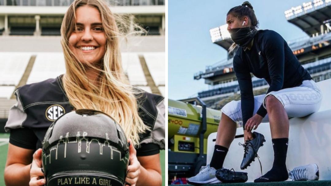 Portera hace historia al jugar en liga varonil de futbol