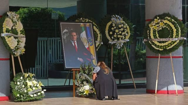 El Gobierno de Jalisco inició los homenajes al exgobernador Aristóteles Sandoval