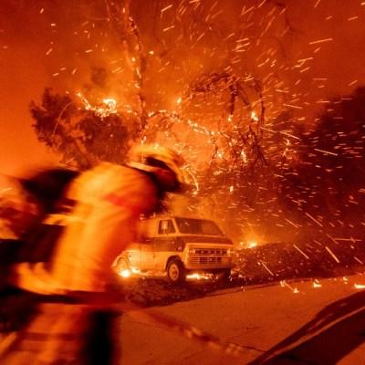 Incendio en Los Ángeles, California