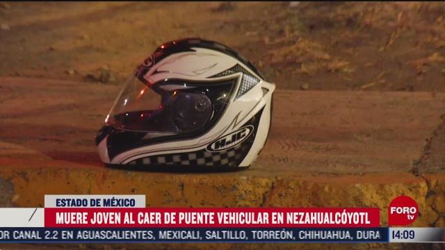 joven muere tras accidente en moto en nezahualcoyotl