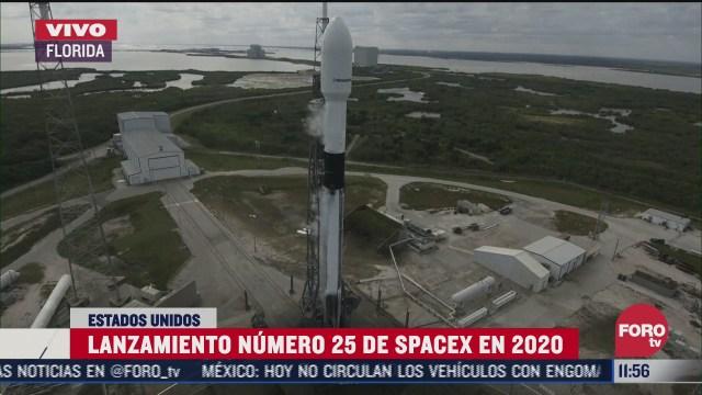 lanzamiento numero 25 de spacex en