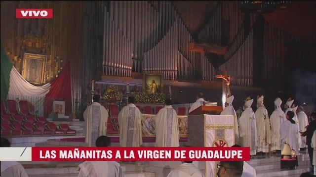 lasmañanitas a la Virgen de Guadalupe 2020se lleva a cabo de manera virtual
