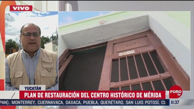 merida inicia restauracion del centro historico
