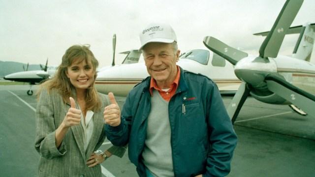 Muere Chuck Yeager, piloto que rompió la barrera del sonido
