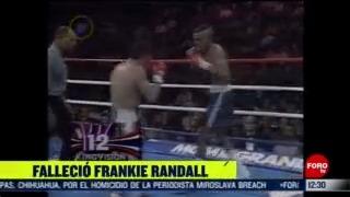 muere el boxeador frankie randall