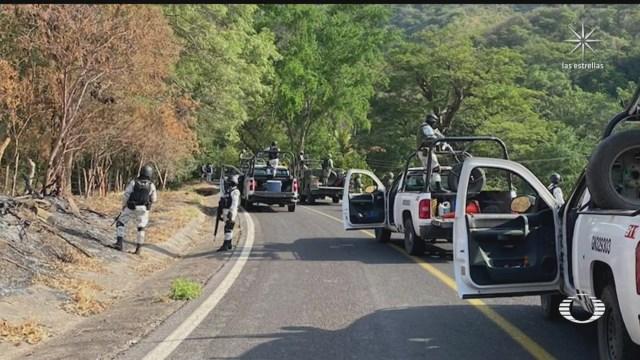 Enfrentamiento en Michoacán deja un saldo de seis muertos
