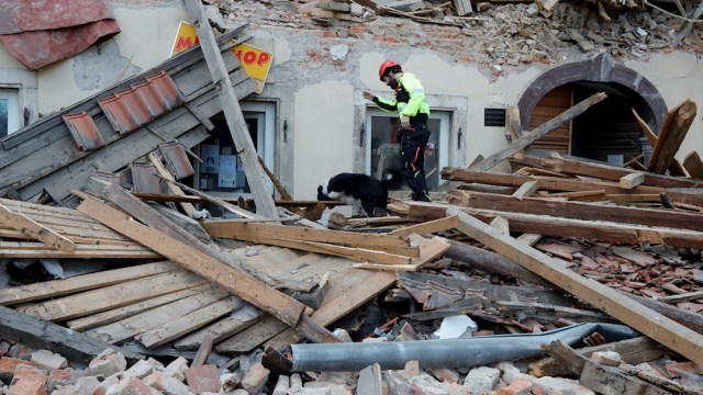 Sismo de magnitud 6.4 remece Croacia