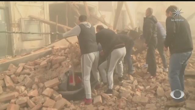 sismo en croacia deja al menos 7 muertos