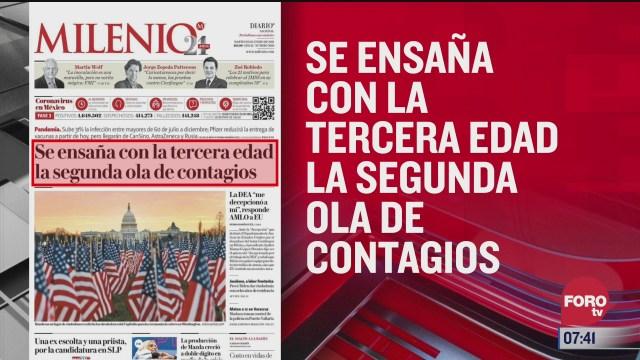 analisis de las portadas nacionales e internacionales del 19 de enero del