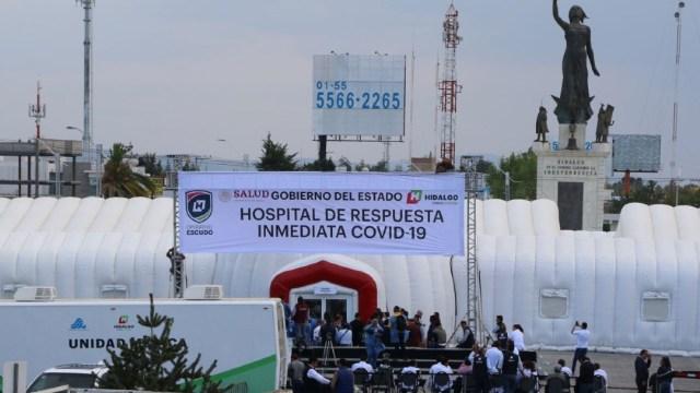Atender a pacientes COVID en Hidalgo costaría entre 80 mil y 150 mil pesos por día