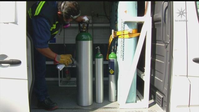 autoridades piden a ciudadanos devolver tanques de oxigeno que no ocupen